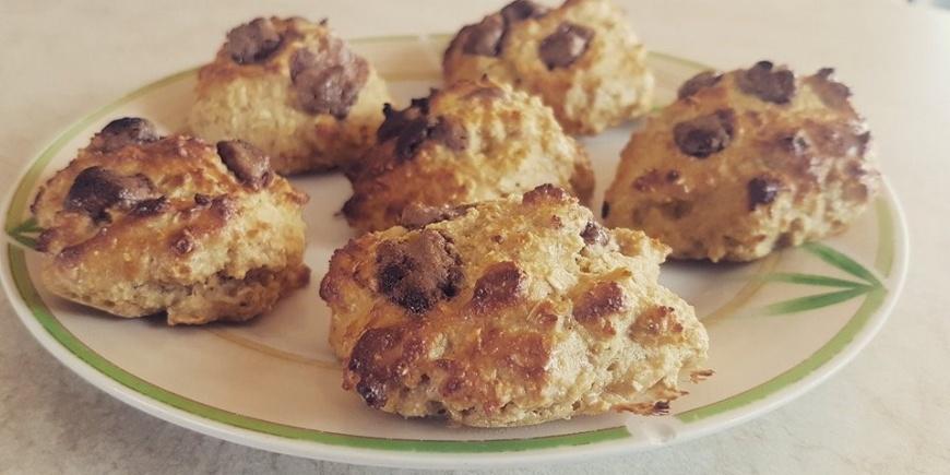 sveika mityba sausainiai