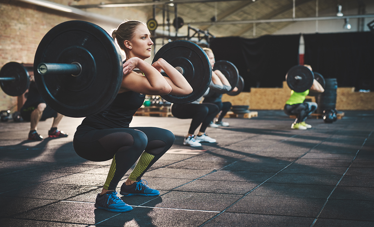 treniruotes moterims