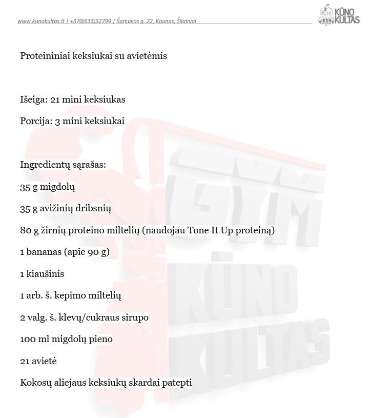 proteininiai keksiukai
